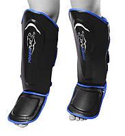 Захист гомілки і стопи PowerPlay 3052 Чорно-Синій M, фото 1