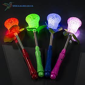 Светящиеся палочка Сахарная Роза светяшки разноцветные