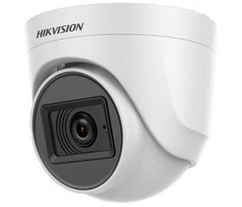5Мп Turbo HD видеокамера Hikvision с встроенным микрофоном