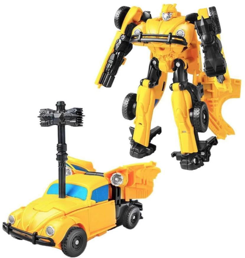 """Робот-трансформер Бамблбі, інерційний, з к/ф """"Бамблбі"""" 11 см - Bumblebee"""