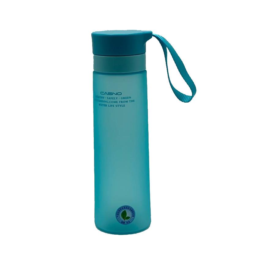 Пляшка для води CASNO 700 мл KXN-1156 Блакитна
