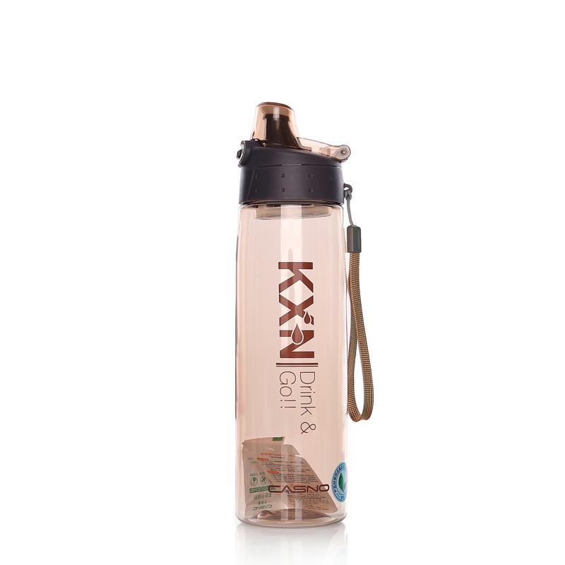Пляшка для води CASNO 780 мл KXN-1180 Коричнева