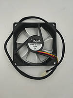 Fractal Design Silent R2 80мм; Чорний; Білий; 80 мм; 80 мм; 25 мм (FD-FAN-SSR2-80)