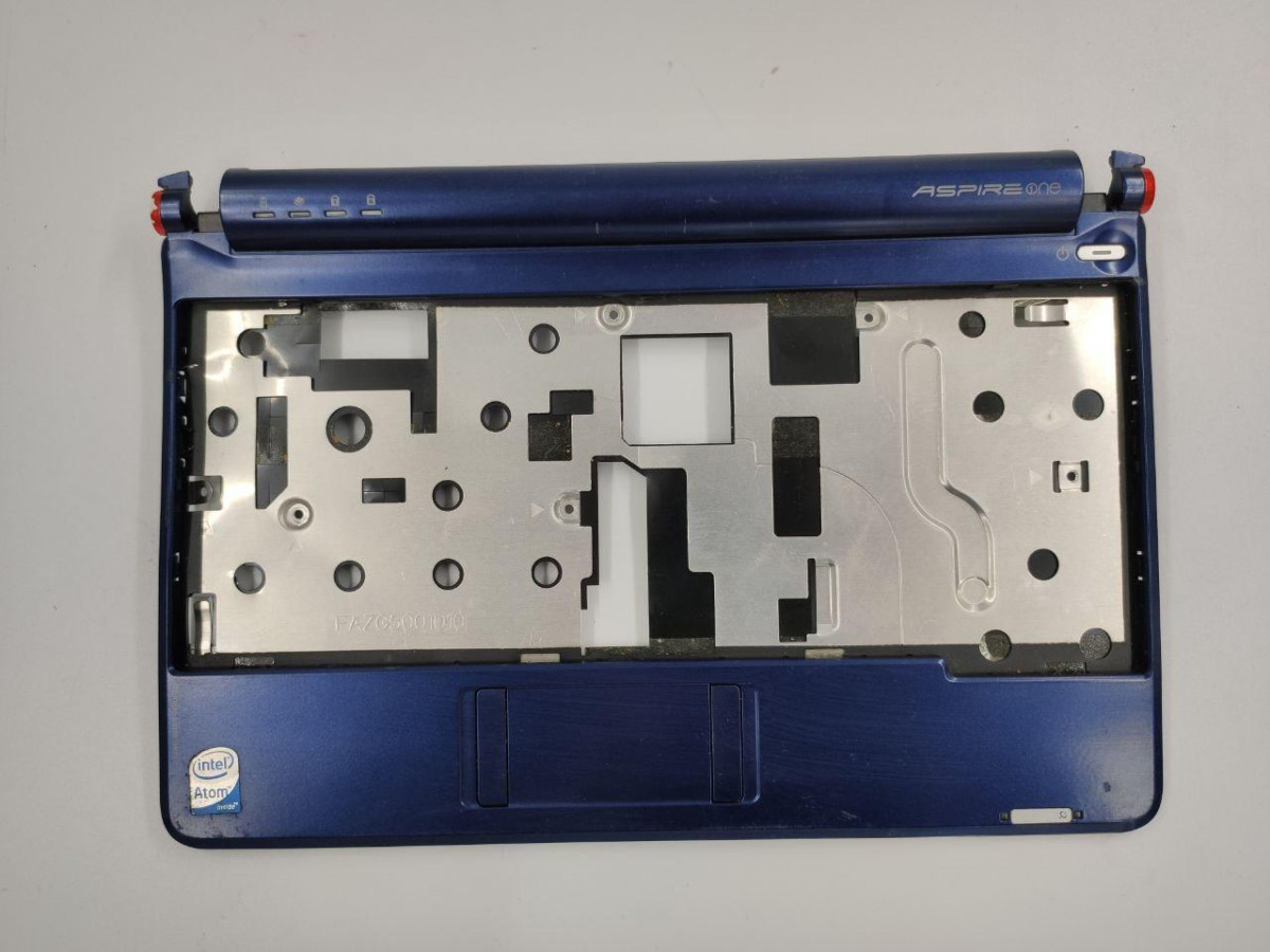 "Середня частина корпуса для ноутбука Acer Aspire One ZG5, A110, A150, 8.9"", FAZG5001010, б/в. Має пошкодження"