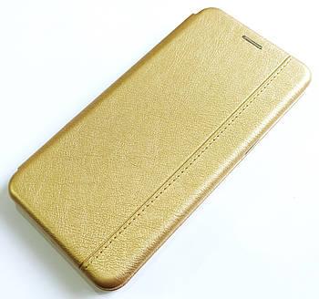 Чехол книжка Momax New для Realme 5, 5s, 5i Золотистый