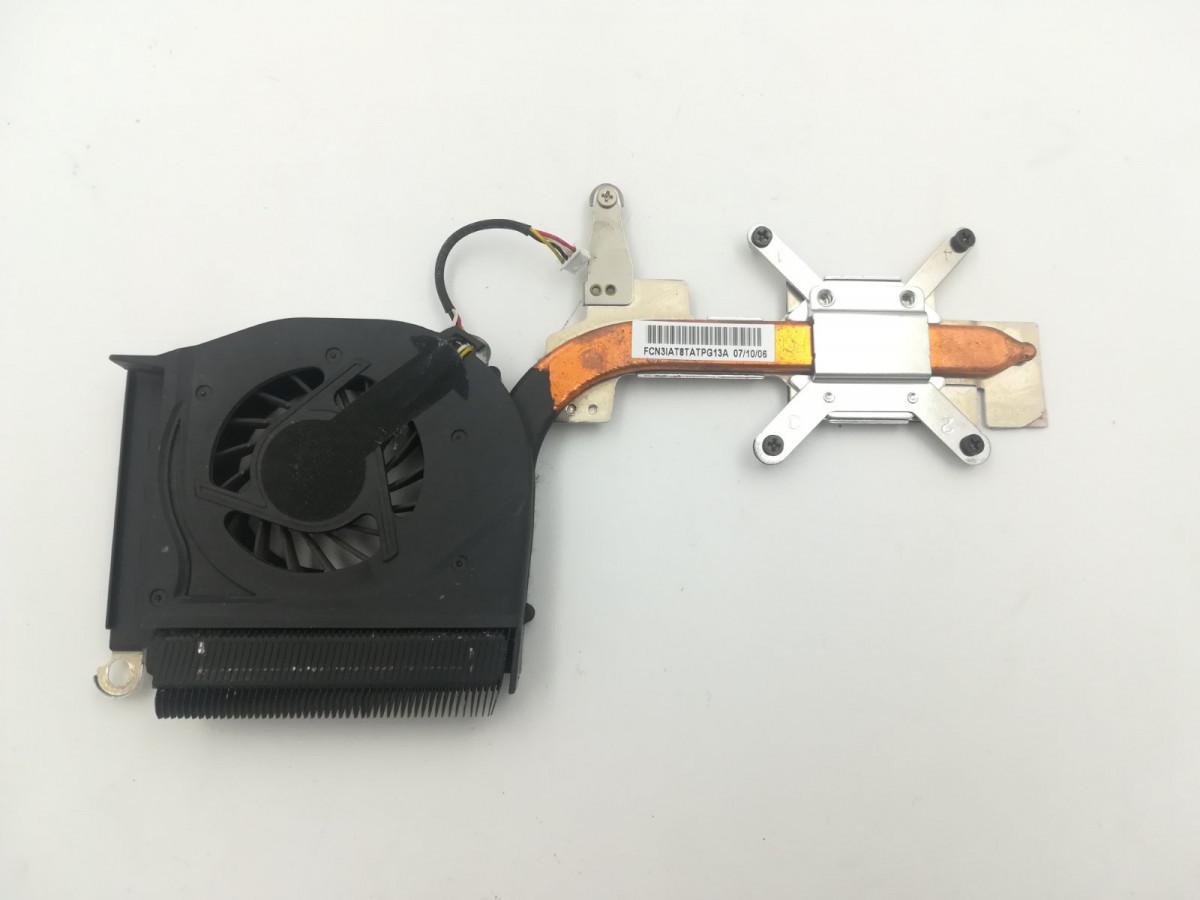 Система охолодження для ноутбука HP Compaq F700, 431450-001, dfs531205m30t, f6c9-ccw, б/в, протестовані,