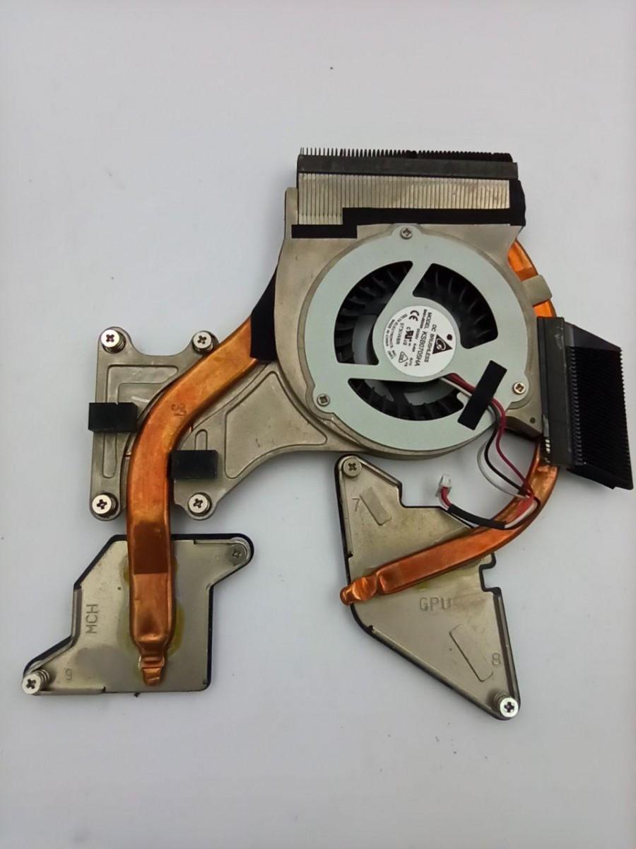 Система охолодження, термотрубка + вентилятор, для ноутбука Samsung R518 R70 R467 R460 R468 ksb0705ha