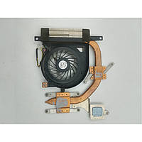 Система охолодження, термотрубка + вентилятор, для ноутбука Sony VAIO VPCEH, 4XHK1HSN020, UDQF2ZH91CQU, б/в,