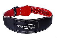 Пояс для важкої атлетики PowerPlay 5085 Чорно-Червоний S, фото 1