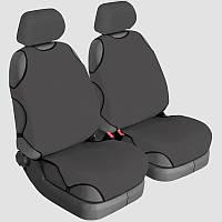 Авточехлы майки для сидений Beltex COTTON Темно-серые