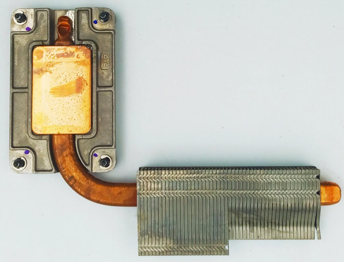 Термотрубка системи охолодження для ноутбука, HP EliteBook 2560p, 6043B0091801, Б/В. В хорошому стані, без