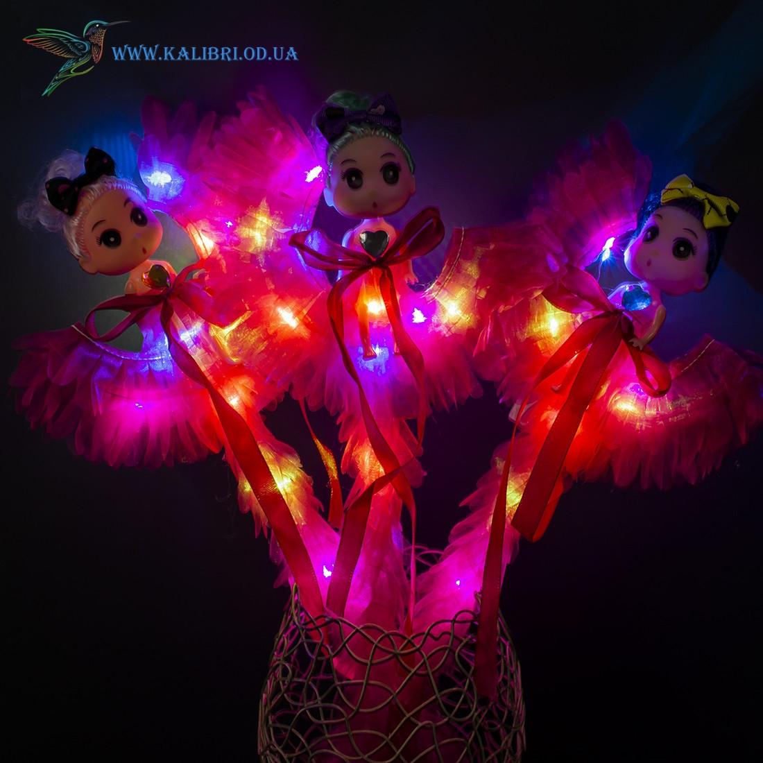 Світяться палички Дівчинки на Місяці светяшки малинові