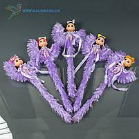 Светящиеся палочки Девочки на Луне светяшки фиолетовые, фото 3