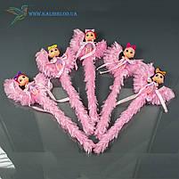 Светящиеся палочки Девочки на Луне светяшки розовые, фото 3