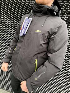 Чоловіча гірськолижна куртка Snow Headqurarter чорний 2XL