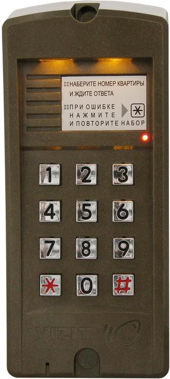 Блок виклику домофона Vizit БВД-310F