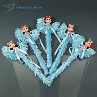 Светящиеся палочки Девочки на Луне светяшки голубые, фото 2