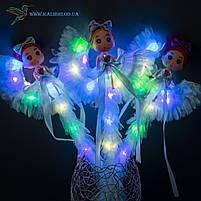 Светящиеся палочки Девочки на Луне светяшки голубые, фото 3