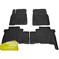 Резиновые коврики в салон Toyota Land Cruiser 200 2007-2012 ленд крузер 200 Avto-Gumm Автогум гумові килимки