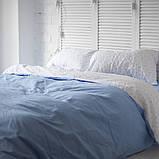 Комплект постільної білизни з попліну Туреччина 100% бавовна, постільна білизна поплін PF055 Двоспальний, фото 2