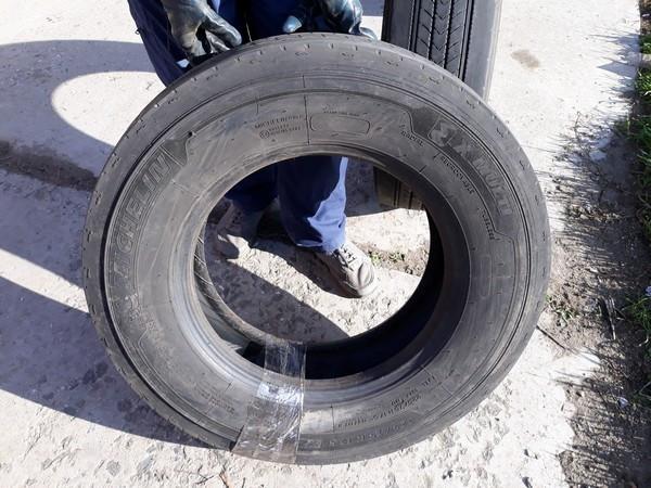 Шины б.у. 225.75.r17.5 Michelin Xmulti Мишлен. Резина бу для грузовиков и автобусов