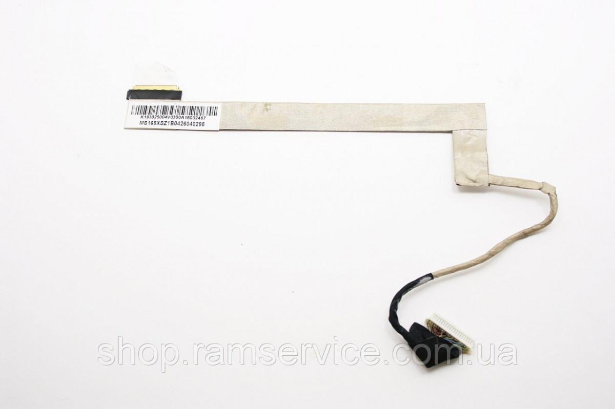 Шлейф матриці для ноутбука MSI A5000, CX500, k193040017v, б/в, в хорошому стані, без пошкоджень.