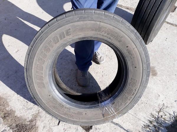 Шины б.у. 225.75.r17.5 Bridgestone R227 Бриджстоун. Резина бу для грузовиков и автобусов