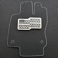 Подпятник металлический для автоковриков 30х15см (алюминий)