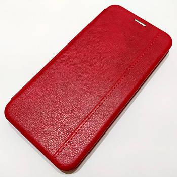 Чехол книжка Momax New для Xiaomi Redmi Note 8T Красный
