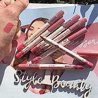 """Помада-олівець для губ водостійкий """"Matte lipstik pencil"""" матовий Fennel №51"""
