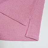 Свитер детский р.104,110,116,122 вязаный SmileTime Shiny Bunny, розовый, фото 2