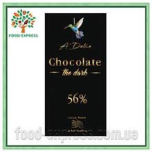 Шоколад Choсolate чорний 56%, 90г