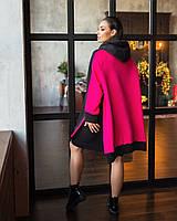 Модный женский теплый костюм в спортивном стиле с юбкой. Размеры:48/50,52/54+Цвета
