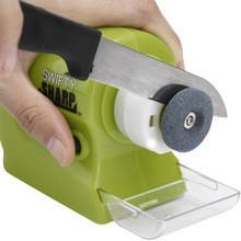 Універсальна бездротова Swifty Sharp Motorized Knife Sharpener (ножеточка Свифти Шарп)