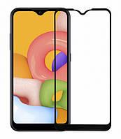 Защитное стекло для Samsung A01 (A015) Полноэкранное (Захисне скло на Самсунг)