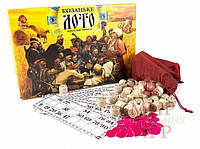 Настольная игра Лото с деревянными бочонками арт.ДТ-ЛА-06-09
