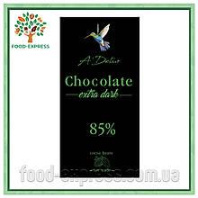 Шоколад екстрачорний 85%, 70г