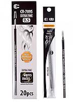 "Стрижень для ручки ""Пише-стирає"", Чорна. 0.5"