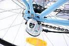 Міський жіночий велосипед Cossack 26 Nexus 3 Blue Польща, фото 6