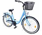 Міський жіночий велосипед Cossack 26 Nexus 3 Blue Польща, фото 10