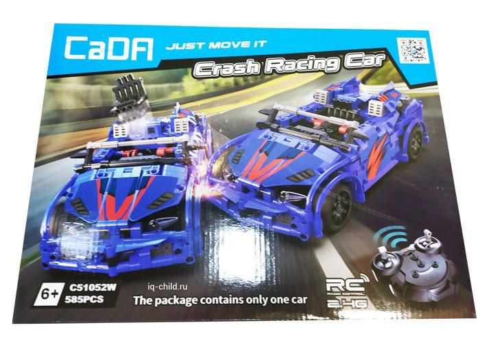 Конструктор CaDA  «Гоночная машина на радиоуправлении», 585 деталей