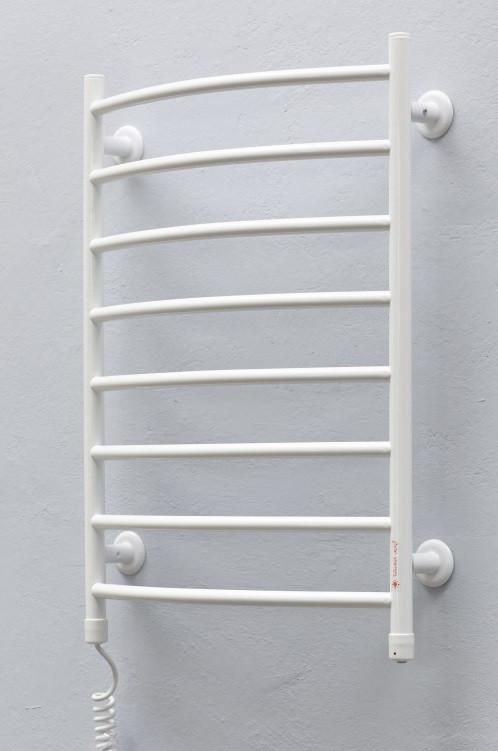 Полотенцесушитель Теплый Мир Овал плюс L белый (710*535*145) 114Вт