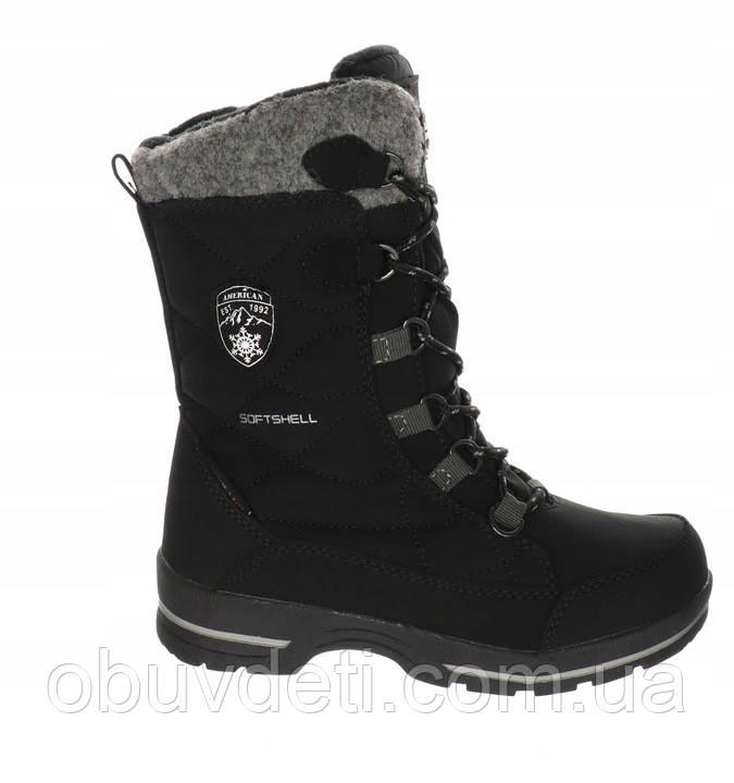 Термо чобітки для дівчинки American Club 36 р-р - 23.9 см