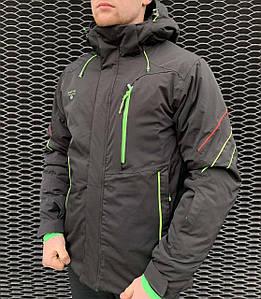 Мужская горнолыжная куртка Snow Headqurarter черная L\XXL