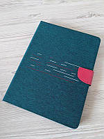 """Универсальный чехол-книжка для планшета 10 дюймов (10"""") Jeans 360 зелёный"""