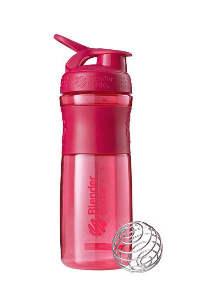 Спортивная бутылка-шейкер BlenderBottle SportMixer 820ml Pink FL (ORIGINAL)