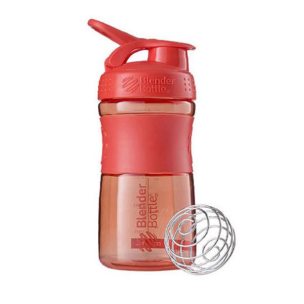 Спортивная бутылка-шейкер BlenderBottle SportMixer 590ml Coral (ORIGINAL)