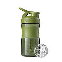 Спортивная бутылка-шейкер BlenderBottle SportMixer 590ml Moss Green (ORIGINAL), фото 1