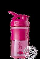 Спортивная бутылка-шейкер BlenderBottle SportMixer 590ml Pink FL (ORIGINAL), фото 1