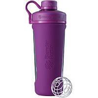 Спортивная бутылка-шейкер BlenderBottle Radian Glass Purple (скло )820мл (ORIGINAL), фото 1